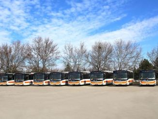 New bus has been added to the Eskisehir transportation fleet