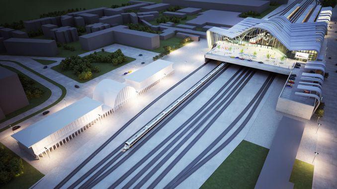 world architecture award to eskisehir yht gari project