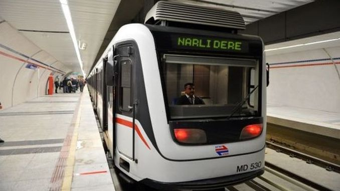 million credits for fahrettin altay narlidere metro project