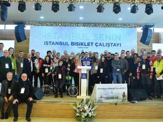 Стамбул велосипед Калиста собрал любителей велосипедов вместе