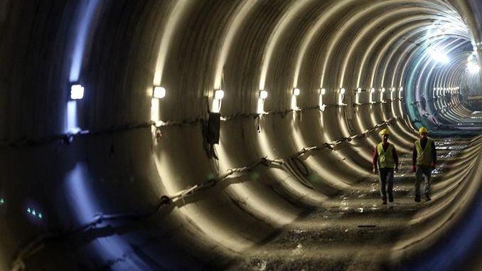 Underground life underground work in Istanbul