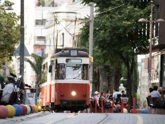 A capacidade de pasaxeiros do tranvía moda kadikoy aumentou