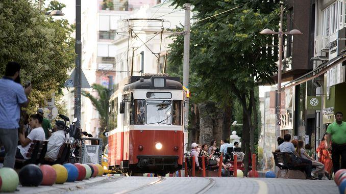 kadikoy fashion tram passenger capacity increased