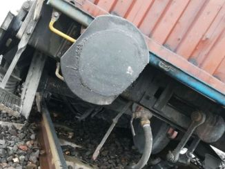 heromarasta train wagon derailed kilometer railway damage