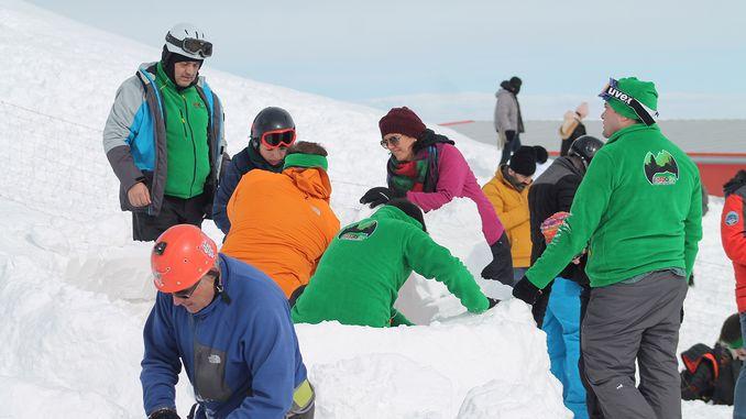 cig training at kayseri erciyes ski resort