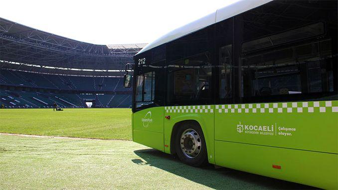 Kocaelispor Derincespor penerbangan tambahan dari taman bandar untuk derby