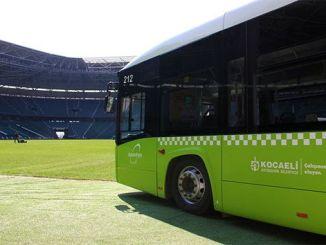 Kocaelispor Derincespor从城市公园出发前往德比的额外航班