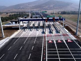 menemen aliaga candarli highway toll