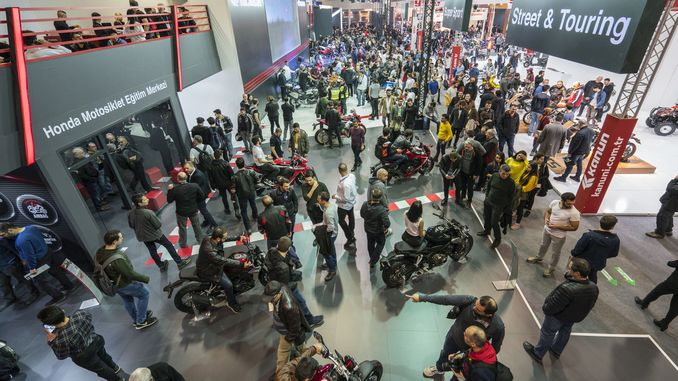 motobike istanbul is very colorful with surprises again