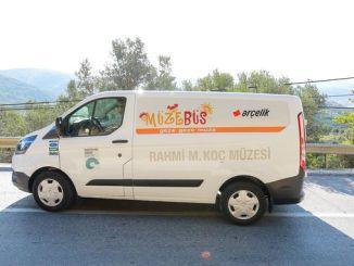 Muzebus fortsætter sin tour nye stop Izmir