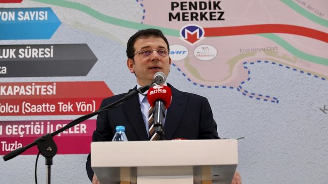 pendik kaynarca salt and metro line construction started again