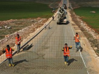 sanliurfa kirsali is equipped with concrete roads