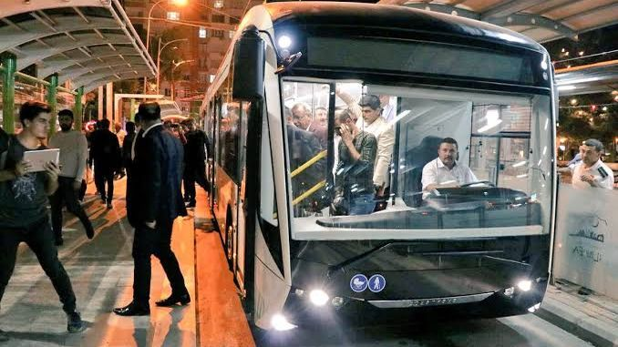 According to the TCA report, the sanliurfa trambus project is against the legislation