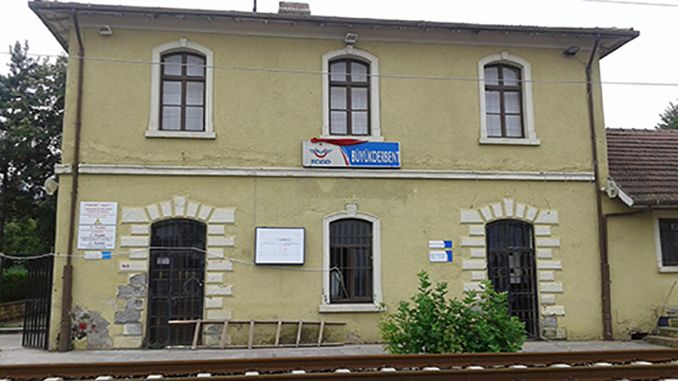 for citizen historical derbent train station