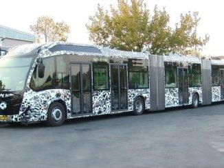 мэтавы электрычны або гібрыдны аўтобус пасля пакупкі новага метробуса