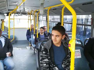 İctimai nəqliyyatda sosial məsafə qaydası