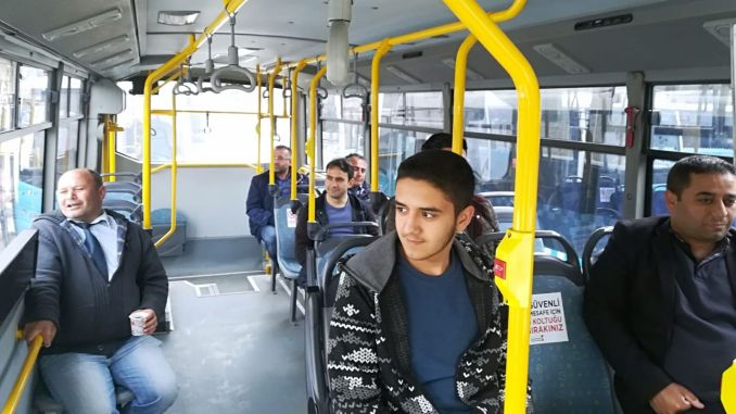 Social Distance Rule in Public Transport