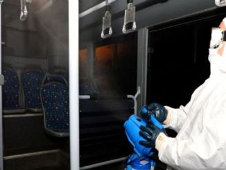 coronavirus prevention in afyonkarahisar datop transportation vehicles