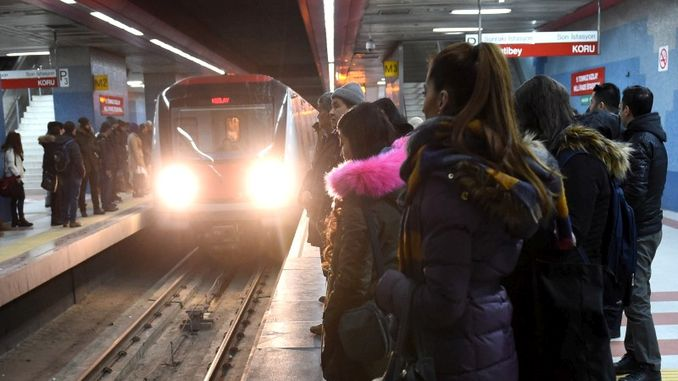 holiday arrangement for public transportation times in Ankara