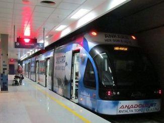 Antaliyada ictimai nəqliyyat istifadəsi faizi tozlandı
