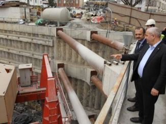 President Buyukgoz Gebze also examined the subway construction