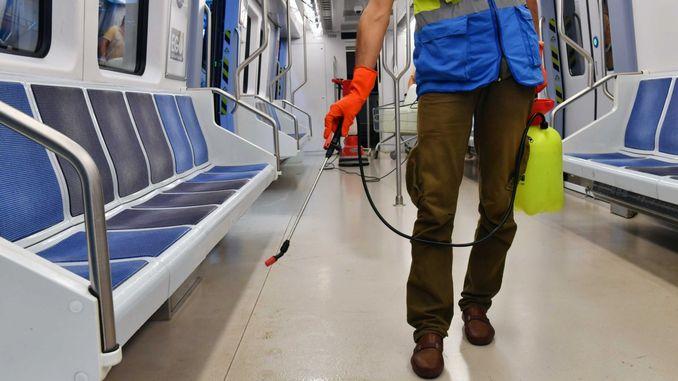 mobilisation de l'hygiène des parcs aux véhicules de transport en commun dans la capitale