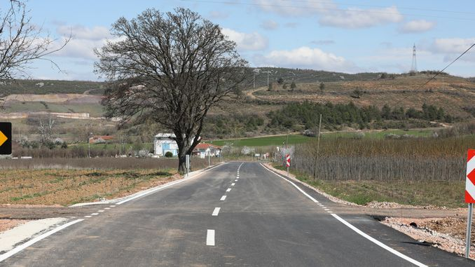 Transportation quality increases in Bursa countryside