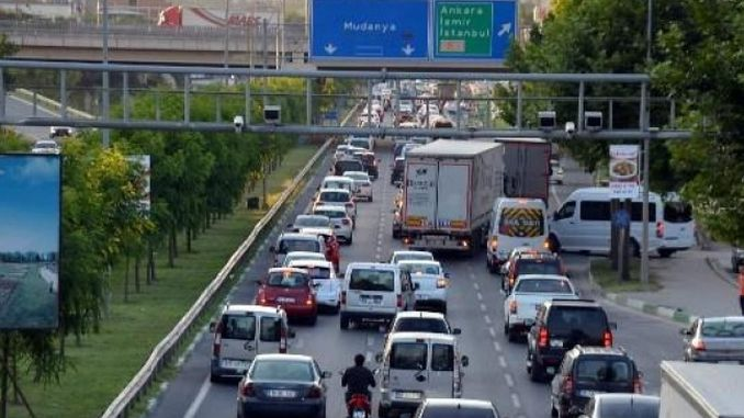 bursa city hospital metro how mudanya road affects passage traffic