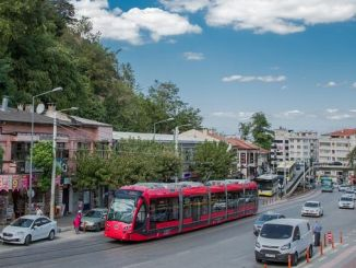 Use of public transportation in Bursa has been halved