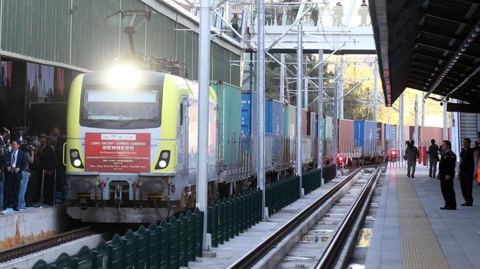 Record Increase in Railway Freight Transport