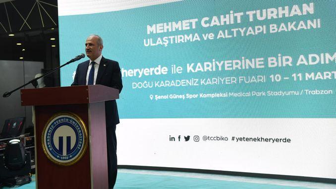 Dokkaf opened in the Eastern Black Sea Regional Career Fair