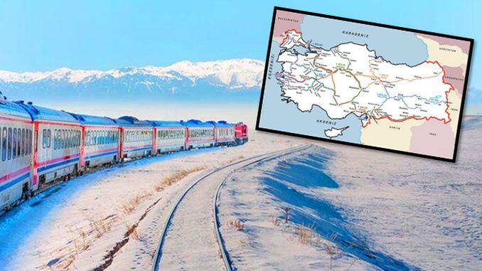 in which province is the longest railway