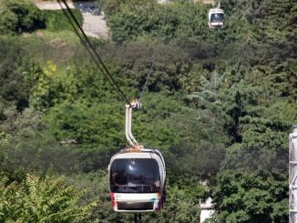 Cable car services are temporarily suspended with eyup piyer loti and macka taskis
