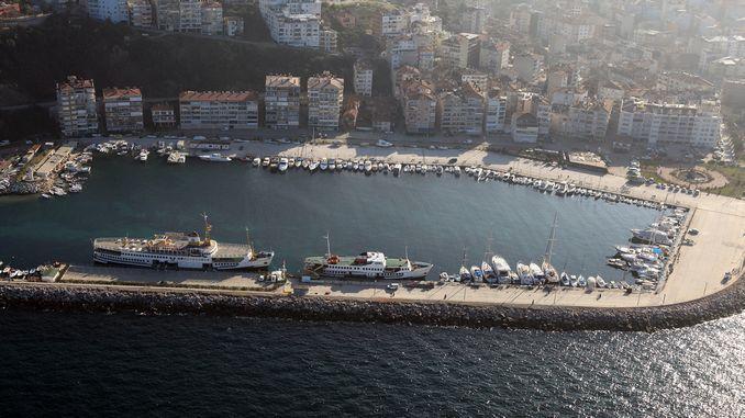 beautiful yacht marina bursa was transferred to biguksehire