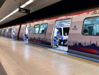 Хатогии банақшагирӣ дар метрои фурудгоҳи Истанбул метр дур мондааст