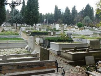 Cemeteries were identified for coronavirus deaths in Istanbul