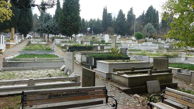 In Istanbul wurden Friedhöfe für Todesfälle durch Coronaviren identifiziert