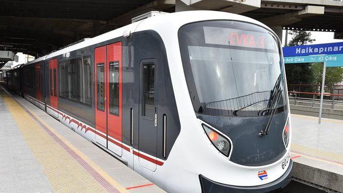Raspored izleta za usluge metroa i tramvaja u Izmiru