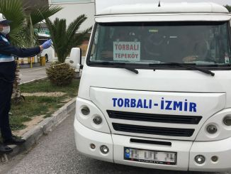 Terminal fee will not be taken from minibus tradesmen in Izmir