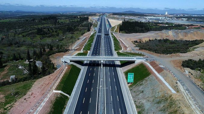 kinali of the northern marmara highway klinca opens tomorrow