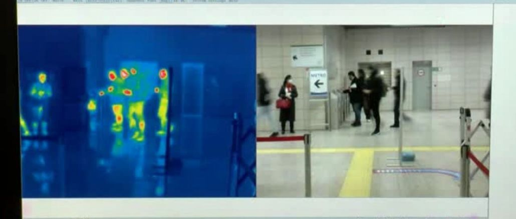 marmaray istasyonlarina termal kamera kuruldu