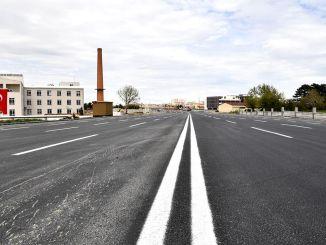alparslan turkes boulevard asfalteret