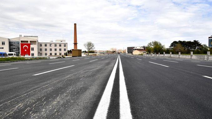 alparslan turkes boulevard asphalted