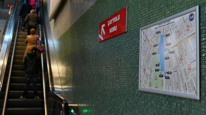 Kort, der gør livet lettere på ankaray-stationer