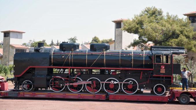antalya kepez steam locomotive