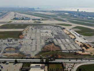 Dve piste aerodroma Ataturk učinile su se neupotrebljivim