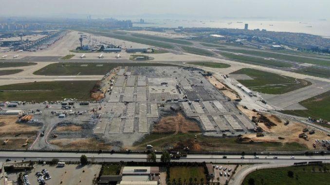 Two runways of Ataturk airport were rendered unusable