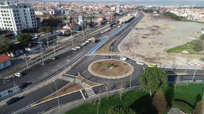 traffic density will decrease in alternative routes in Balikesir