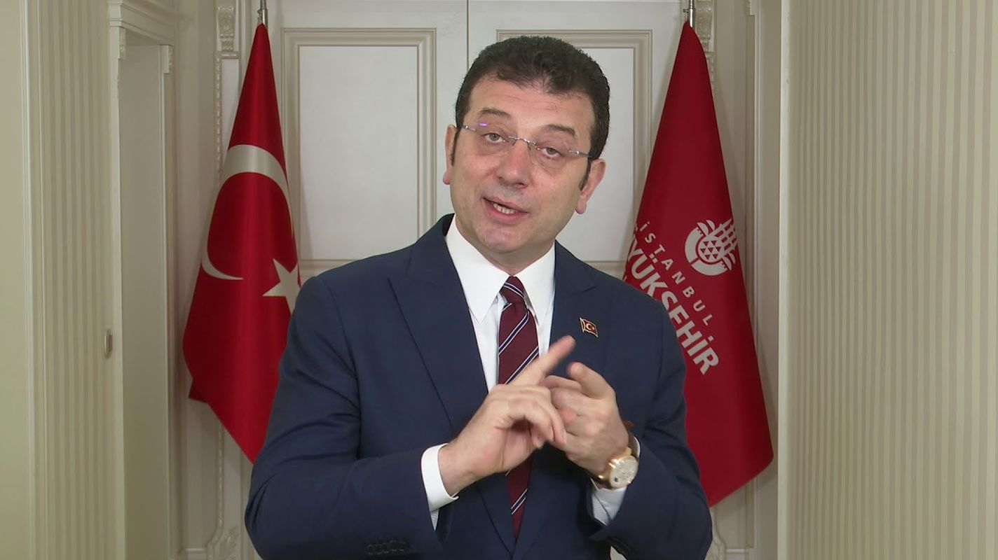 Basaksehir hospital road explanation from the president imamogl