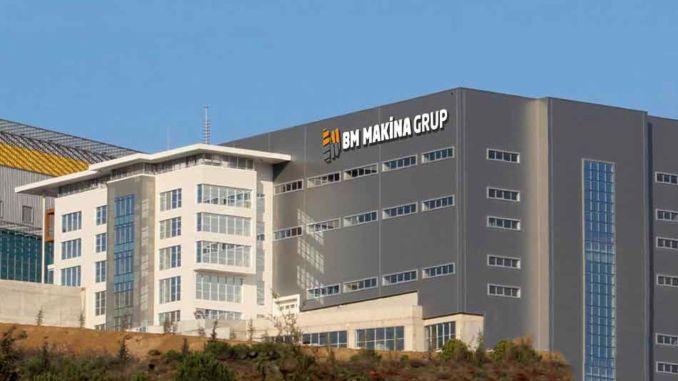 Five brand BM Makina grouped under the cat